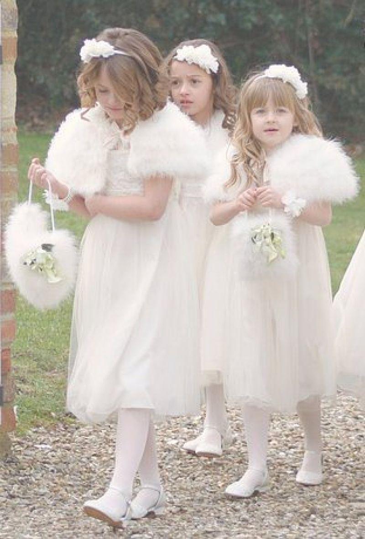 Best Flower Girl Dresses For Winter Wedding Flower girl