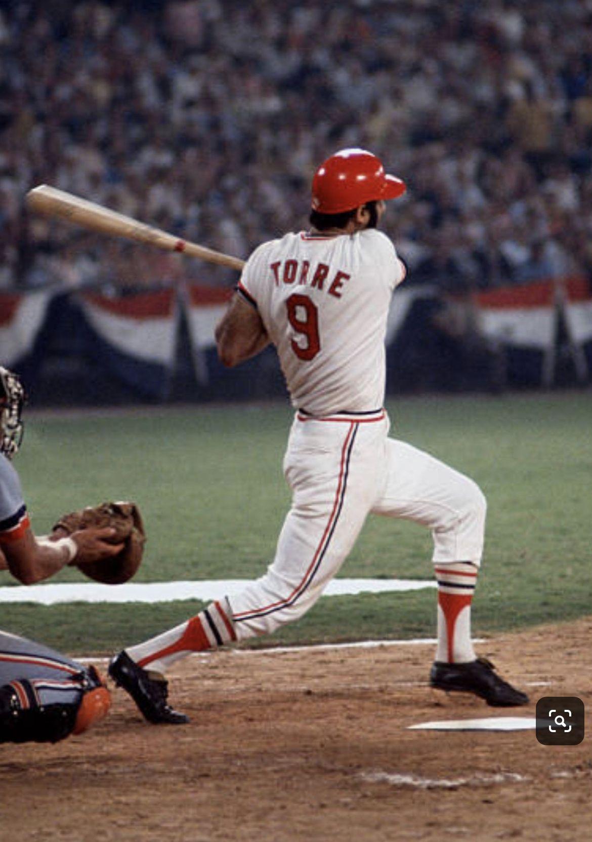 Joe Torre, 1972 All Star Game, Atlanta. St louis