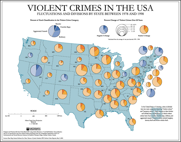 Explanatory Maps Reveal Where News Stories Have Taken Place Such As - Map-of-violent-crime-in-us
