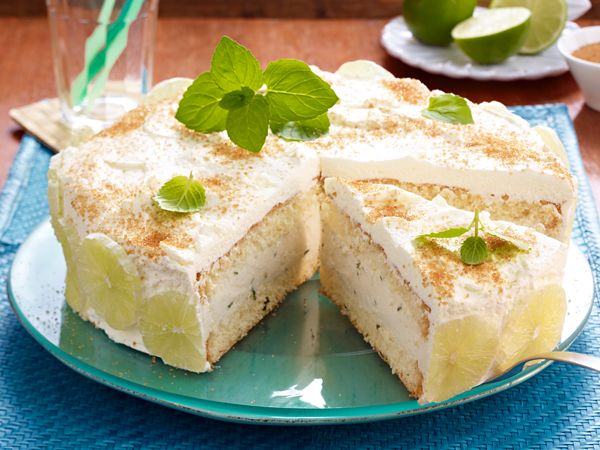 MojitoTorte Rezept  torte  Pinterest  Torten Rezepte