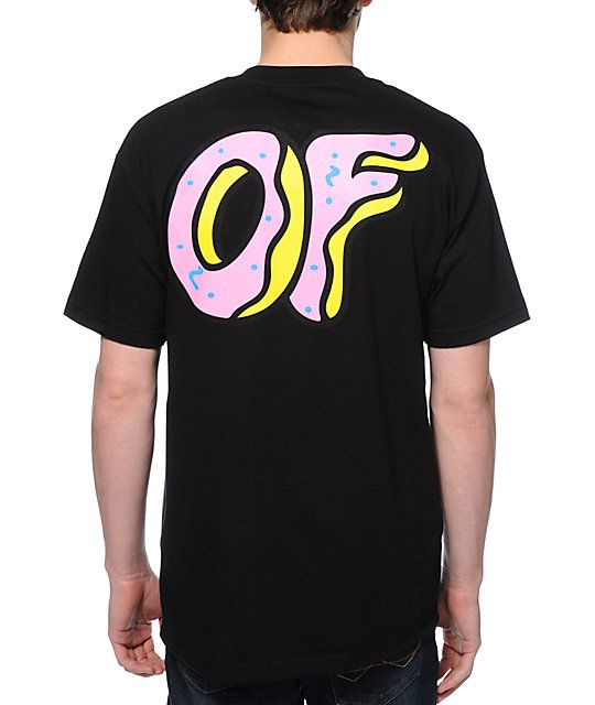 f08128d61120 Up your OFWGKTA swag with the OF Donut t-shirt from the Official Odd Future  clothing line. Size small