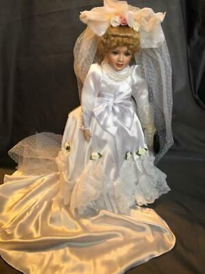 Westminster Porcelain Bride Doll 19 1/2 High includes Stand rd   | eBay #bridedolls