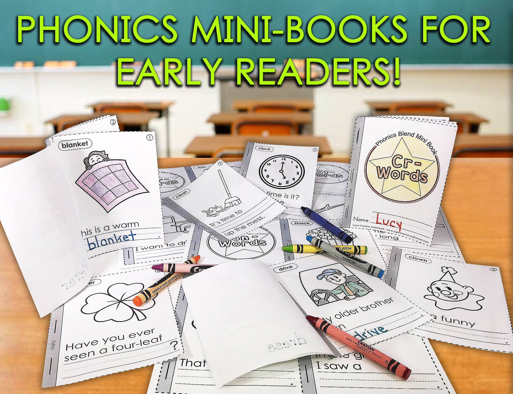 Minibooks Are A Fun Way To Practice Reading Visit Our