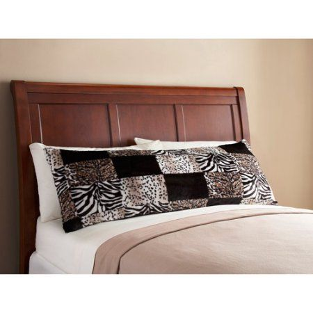 Body Pillow Covers Walmart Prepossessing Mainstays Fur Body Pillow Cover Brown  Body Pillow Covers Walmart Design Inspiration