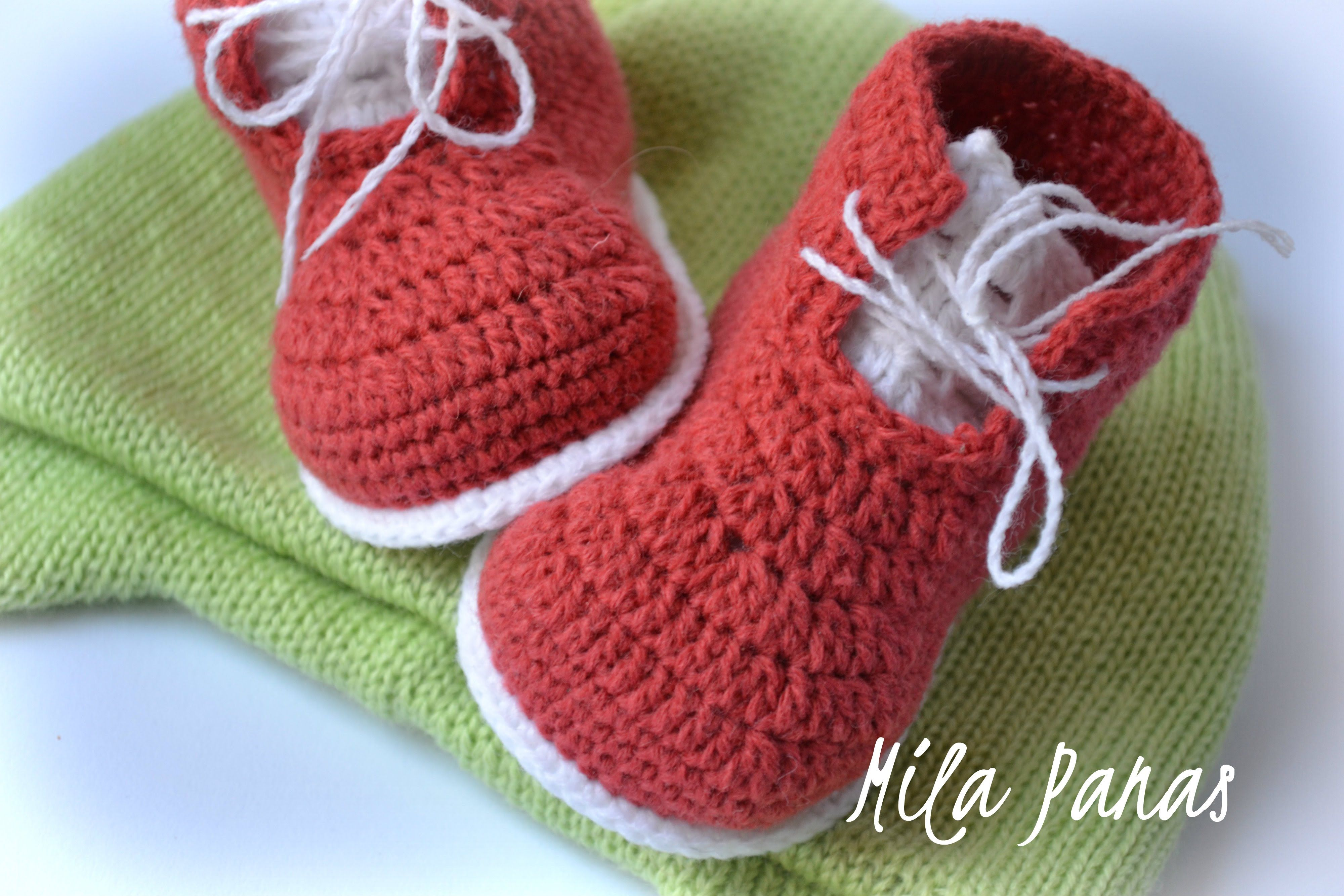 вяжем пинетки ботинки крючком вязаные пинетки детские пинетки
