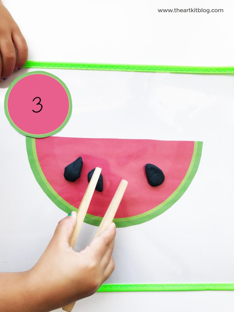 Watermelon Seed Counting Activity For Kids Activities For Kids Printables Free Kids Counting Activities [ 1024 x 768 Pixel ]