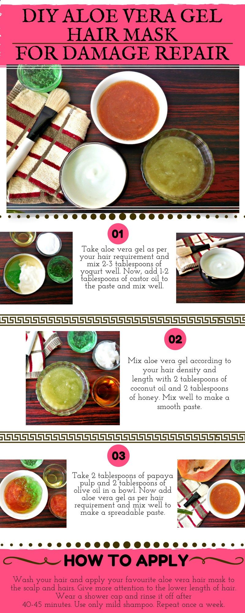 Steps On How To Go About Hair Loss With Images Hair Mask Aloe