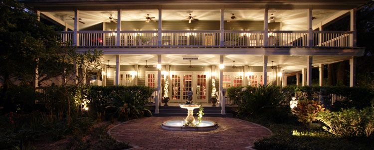 The Courtyard At Lake Lucerne Wedding Ceremony Reception Venue Florida Orlando Daytona Beach And Surrounding Areas