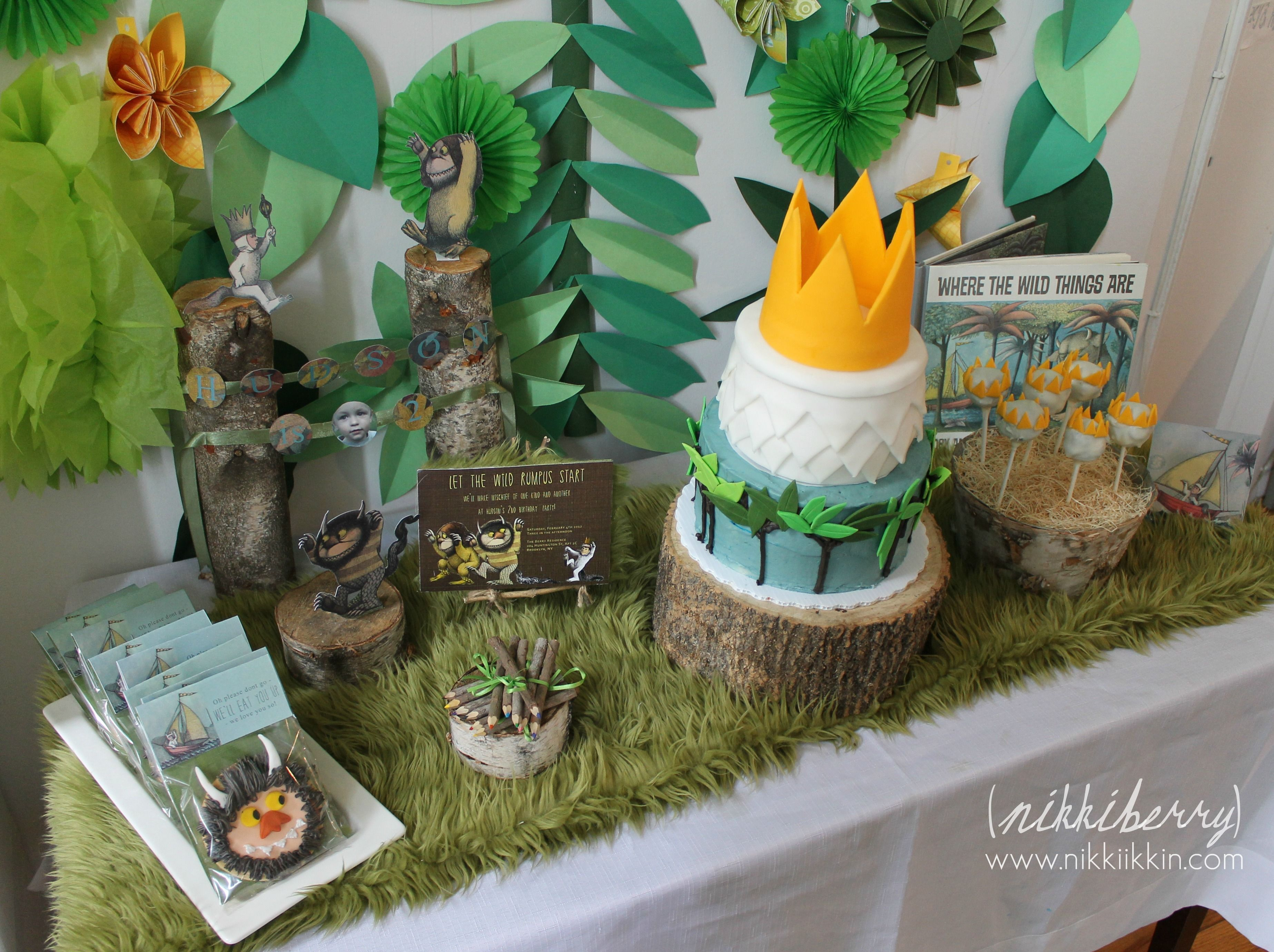 Babyshower · Where The Wild Things Are ...