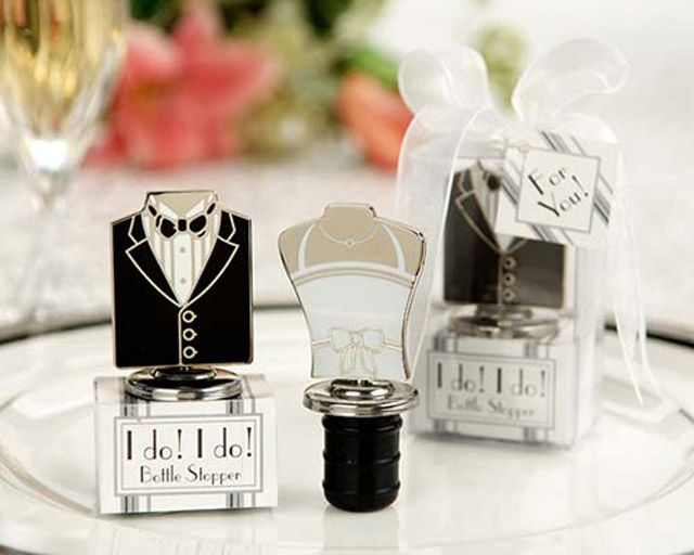 Cute Bottle Toppers Wedding Favors