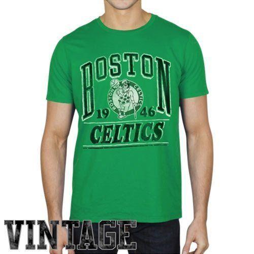 88c040d2e9b6 Junk Food Boston Celtics Champion Vintage T-Shirt - Kelly Green ...