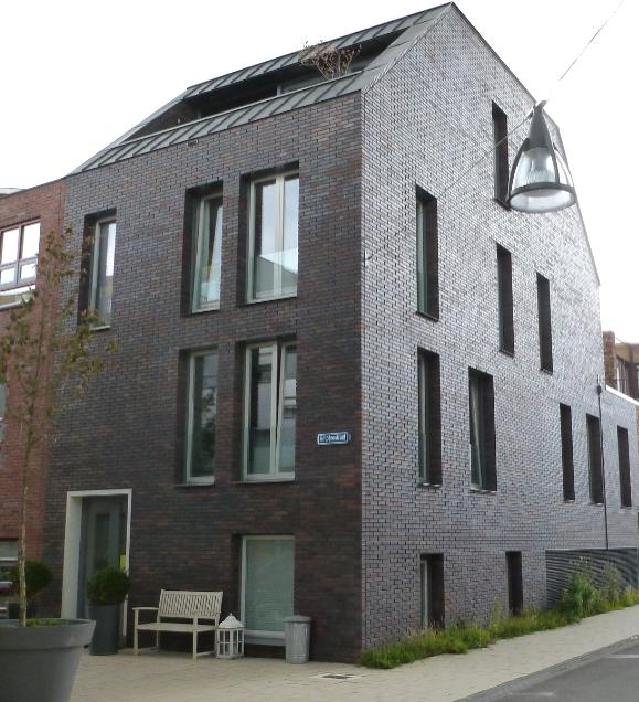 Modern Dutch house in Nieuw Leyden