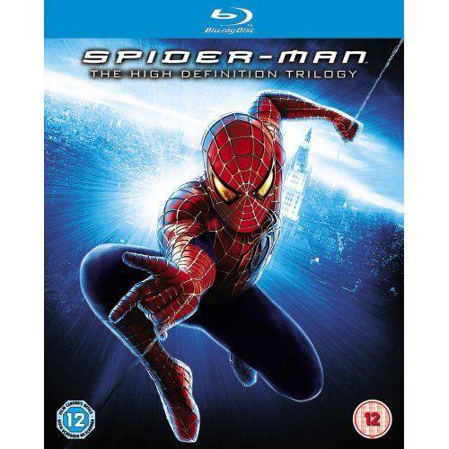 Amazon Com Spider Man 1 3 Blu Ray Tobey Maguire Kirsten Dunst Movies Tv Spiderman Spider Man Trilogy Best Villains
