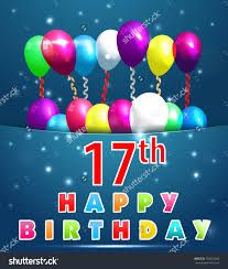 Happy 17th Birthday Son