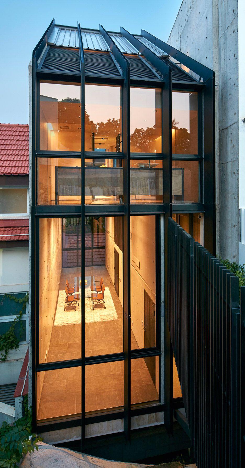 WOW Architects converts Singapore shophouse into art venue