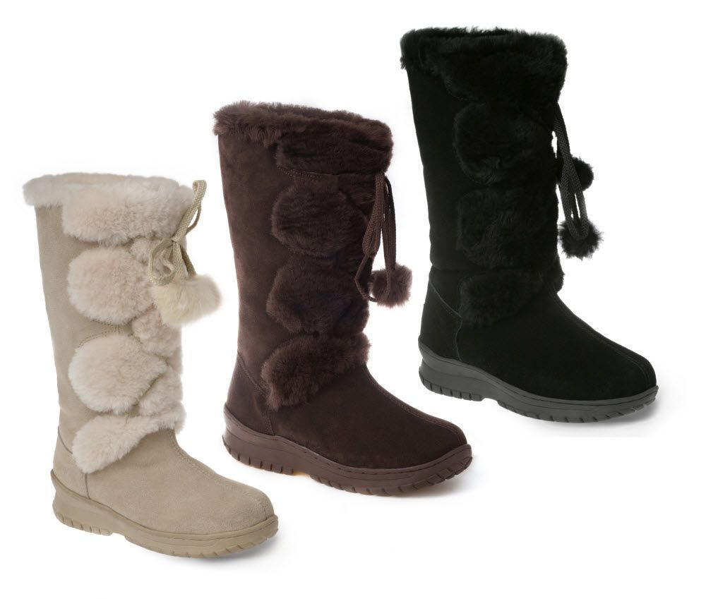 9eca6a0c4c4 Ozwear UGG Pom Pom Long Boots in Various Colours | My Women Fashion ...