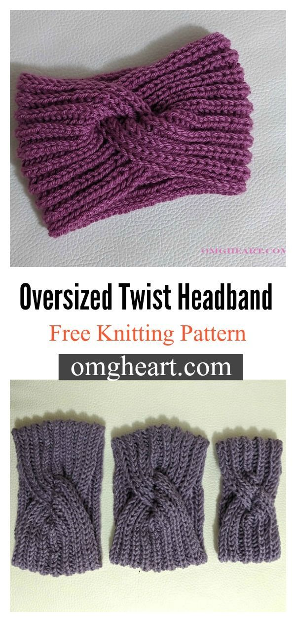 8 Twist Headband Free Knitting Pattern - Page 2 of 2 in ...