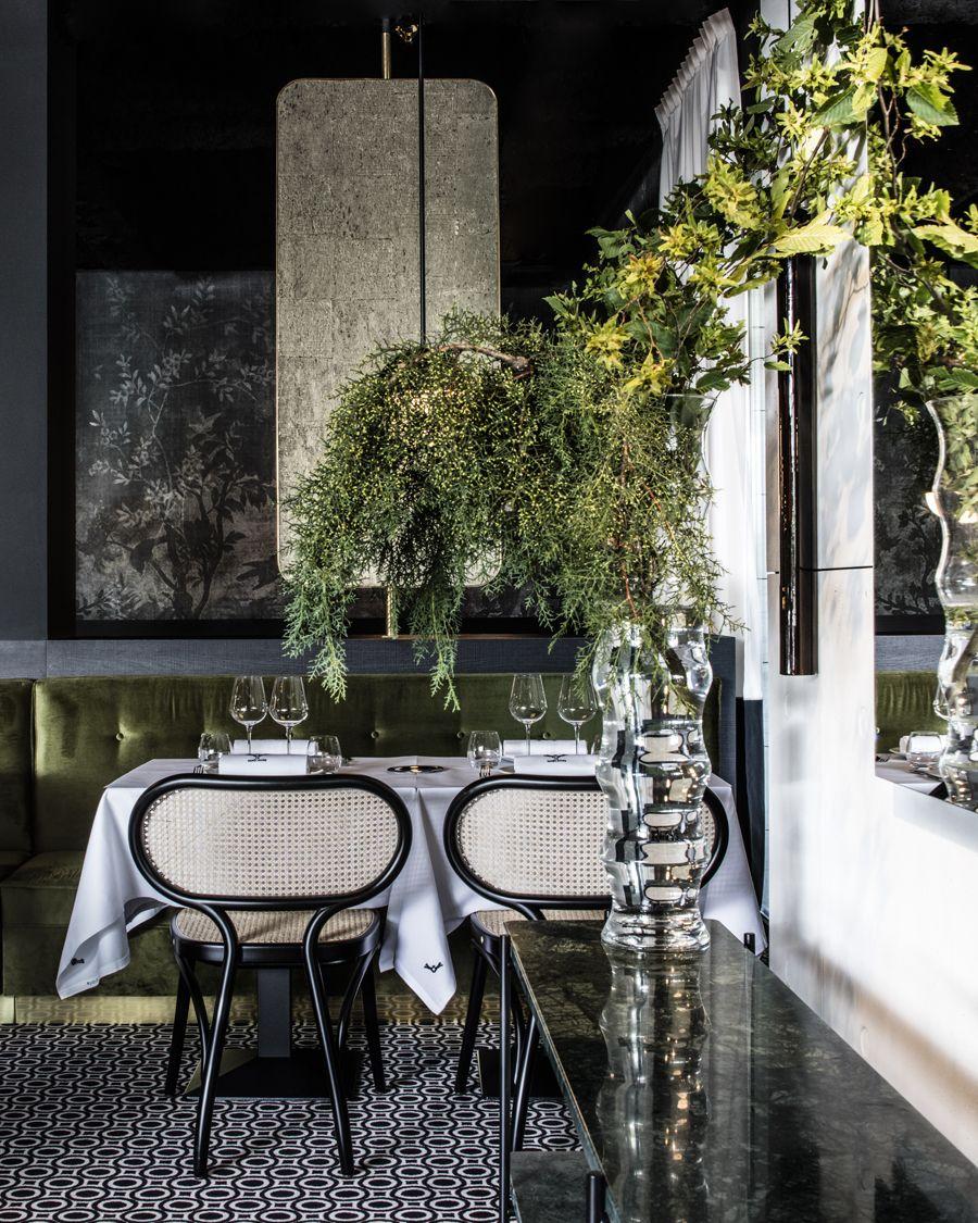 La Foret Noire Restraunt by Claude Cartier Decoration | Photo by ...