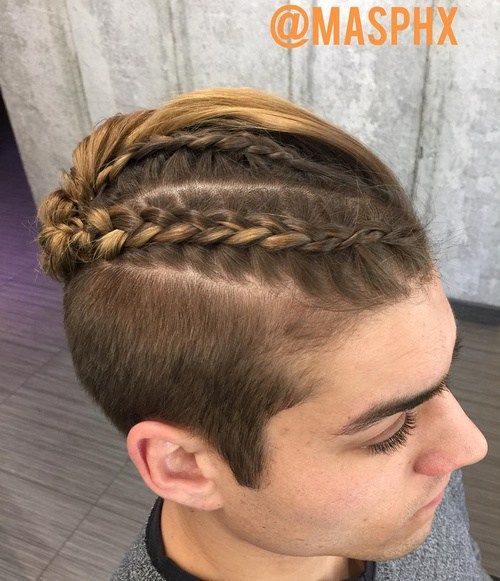 Terrific 20 New Super Cool Braids Styles For Men You Can T Miss Cool Look Short Hairstyles Gunalazisus