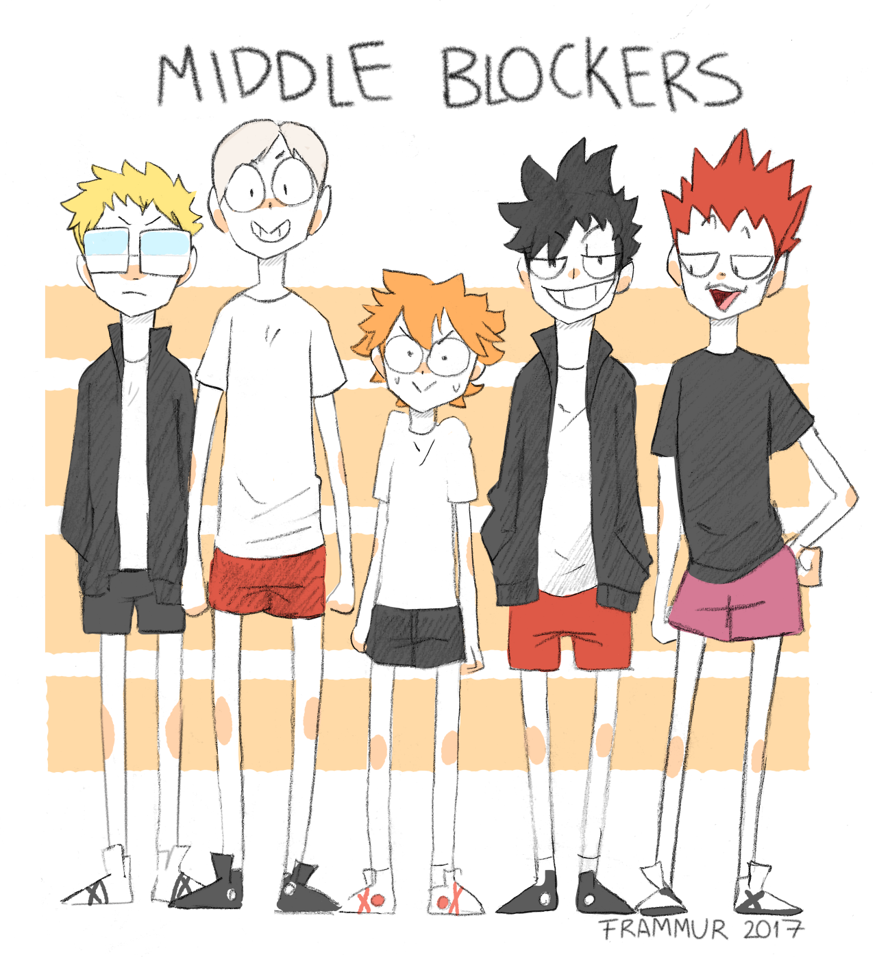 Frammur Middle Blocker Is The Best Position Isn T It Haikyuu Anime Anime Haikyuu Fanart