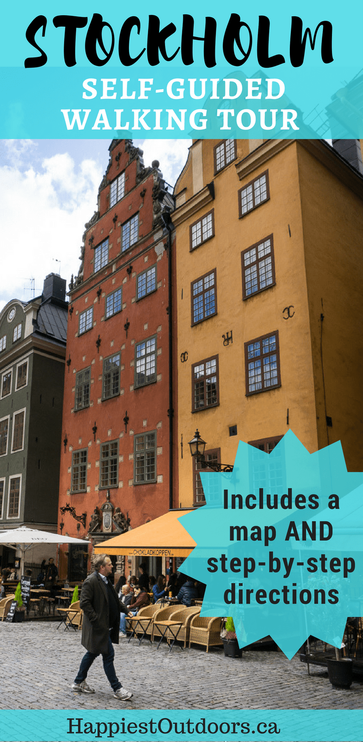 The Ultimate Self Guided Walking Tour Of Stockholm Sweden Explore The Picturesque Old Town Gamla Stan Of Stockholm Wit Walking Tour Sweden Travel Stockholm