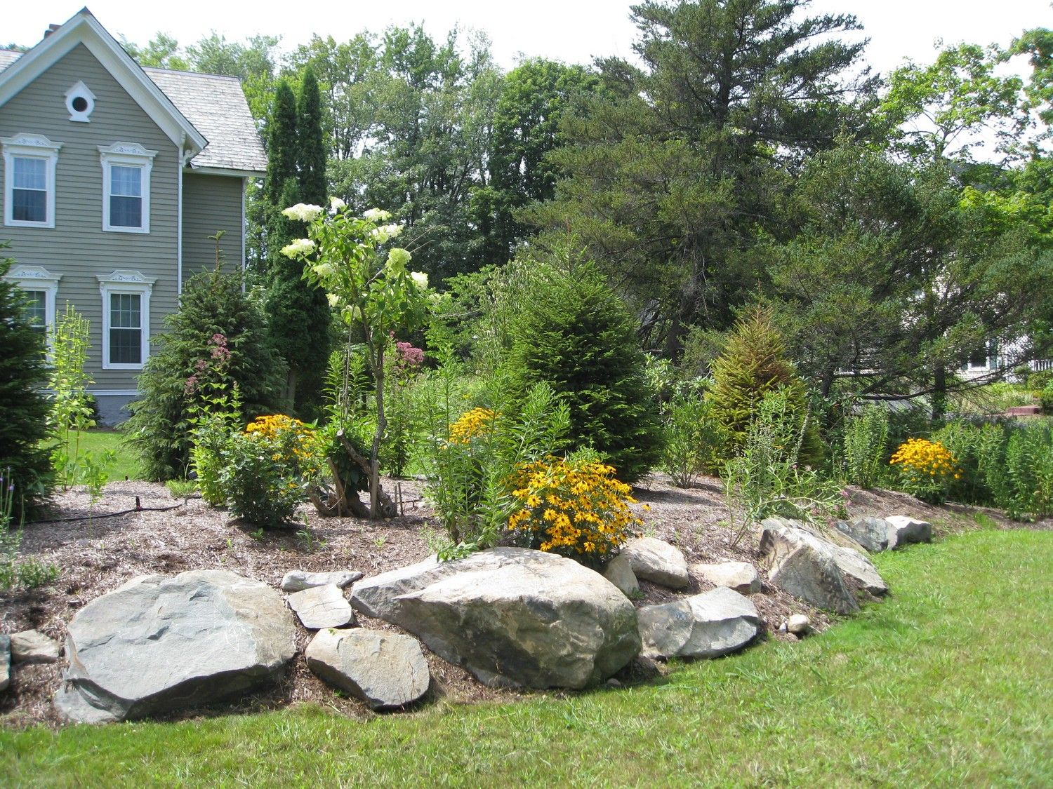 Pin By Sue Bila On Island And Stones Burm Landscaping Garden Landscape Design Landscaping With Rocks