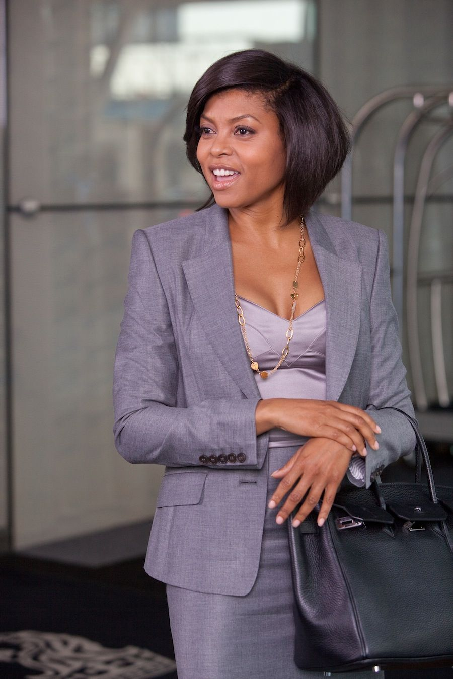 taraji p. henson! love that she plays the youngest ceo in the