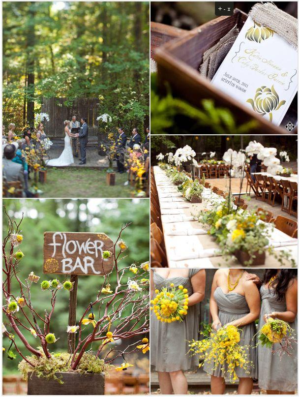 Inspirational Wedding Ideas #89: Forest Wedding