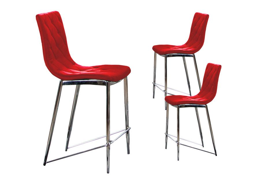 Admirable Barletta Red Barstools Chairs Black Bar Stools Red Bar Gmtry Best Dining Table And Chair Ideas Images Gmtryco