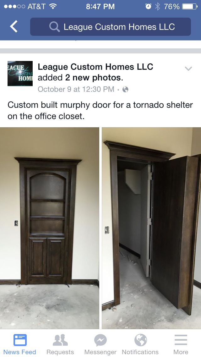 Storm shelter idea maybe put it