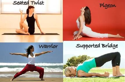 beginner's poses check out our blog for pose benefits