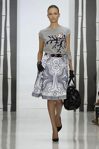 Gucci Resort 2008 Fashion Show - Natasha Poly