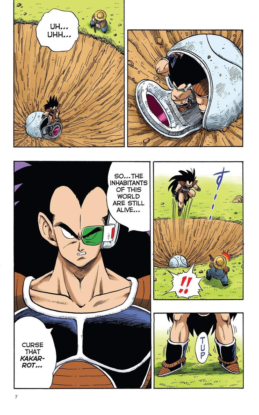 Dragon Ball Full Color Saiyan Arc Chapter 1 Page 8 Dragon Ball Dragon Ball Super Goku Dragon