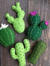 Mixed Cactus Garland Cactus Banner Succulents Saguaro Felt Cacti Cactus Nursery Cactus Decor Adventure Office Decor Fiesta Party