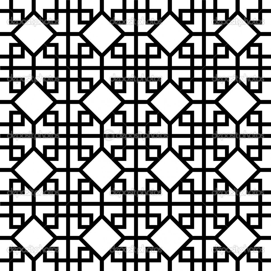 Chinese Pattern Ideas Can Incorporate The Mahjong Tiles Onto Patterns Inside Squares