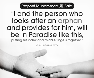 Protect orphans hadith