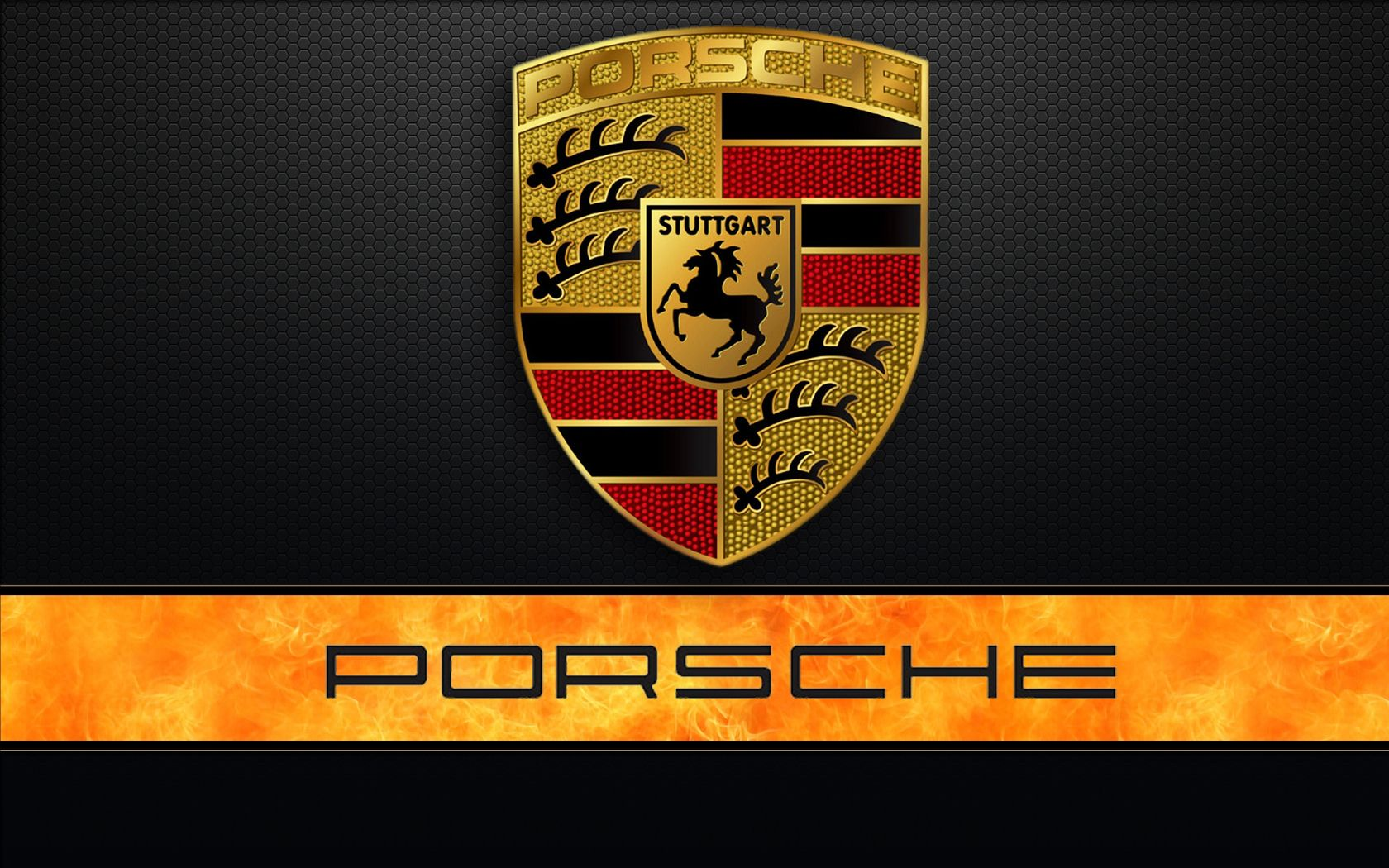 Wallpaper Porsche Car Logo