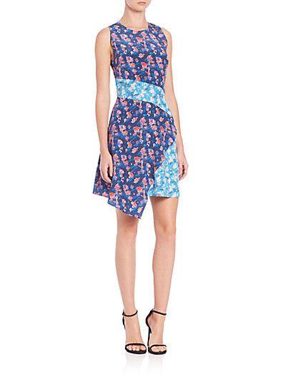 TANYA TAYLOR Sleeveless A-Line Dress. #tanyataylor #cloth #dress
