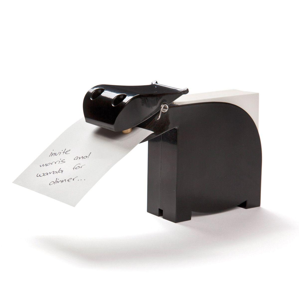 Bianca Memo Holder Black Office Gadget Memo Holder Desk Organization Funky Gifts