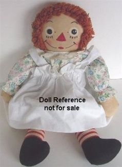 Averill 1940s Raggedy Ann doll by J. Gruelle