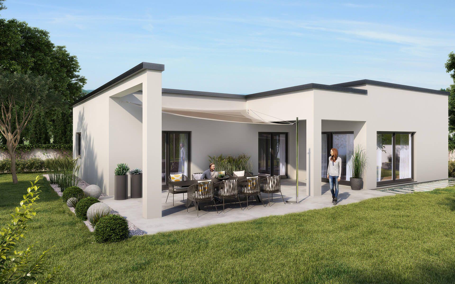 Wolf Haus Bungalow Elegance Fertighaus Preise In 2020 Fertighaus Bungalow Haus Bungalow
