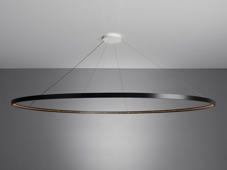 Led direct indirect light steel pendant lamp omega 200 by le deun led direct indirect light steel pendant lamp omega 200 by le deun luminaires aloadofball Image collections