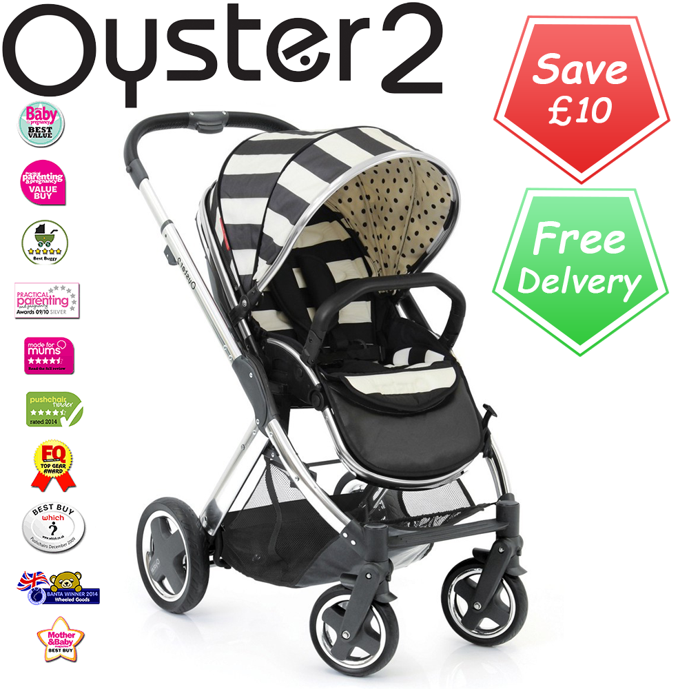 Oyster Pram Purple Babystyle Oyster 2 Vogue Stroller Humbug Baby P Baby