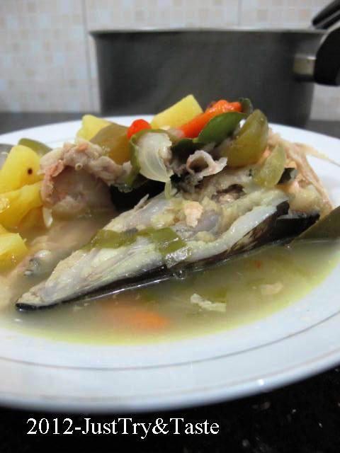 resep  pedas kepala salmon bagian terlezat salmon   kepalanya   makanan resep Resepi Sup Ayam Restoran Enak dan Mudah