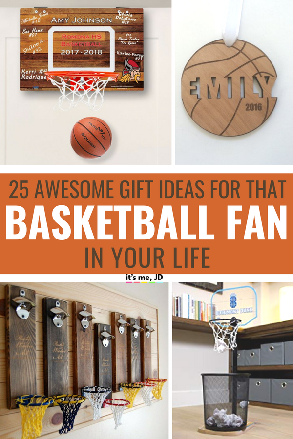 21 Awesome Gifts For Basketball Lovers Best Gift Ideas For Basketball Players Basketball Gifts Senior Night Gifts Personalized Gifts For Dad