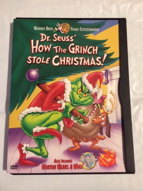 How The Grinch Stole Christmas 1966 Dvd.How The Grinch Stole Christmas Dvd 1999 Excellent