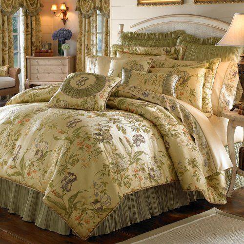 Croscill Iris Jacquard 4-Piece King Comforter Set Croscill,http://www.amazon.com/dp/B002EQB1MO/ref=cm_sw_r_pi_dp_XYbatb12CBAWBAYY