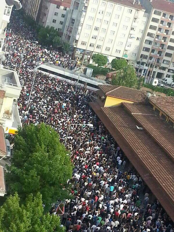 Occupygezi Park Protest City Photo