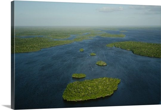 Whitewater Bay In Everglades National Park Florida