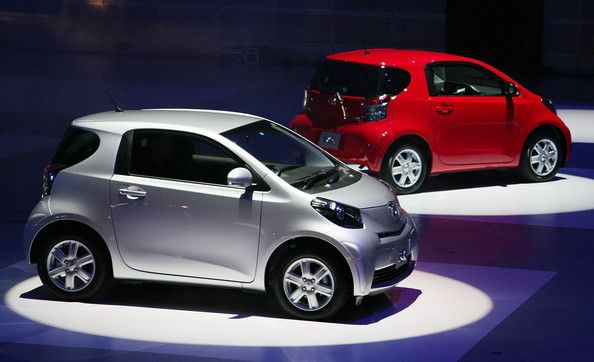 Toyota Launches New Cute Little Car Called the iQ  Car deals